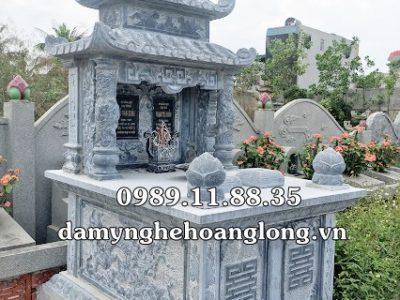 Mộ đôi đá làm tại Thừa Thiên Huế